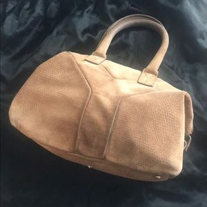 Authentic YSL Tan Leather Bag